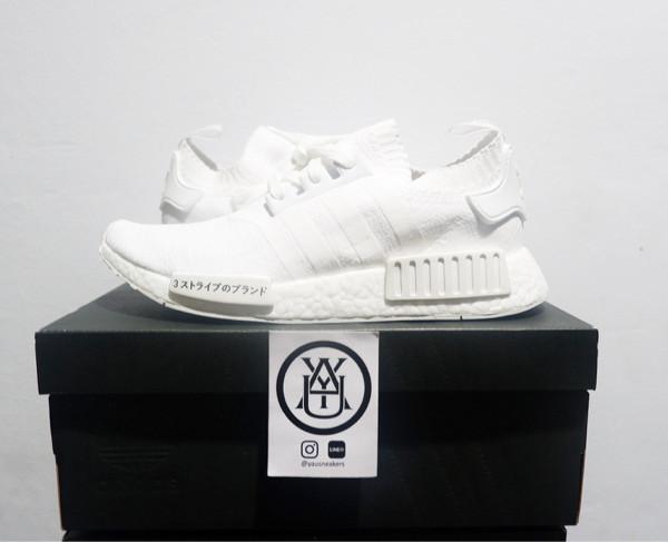 38f7505a1 Jual ADIDAS NMD R1 PK JAPAN TRIPLE WHITE -  yausneakers
