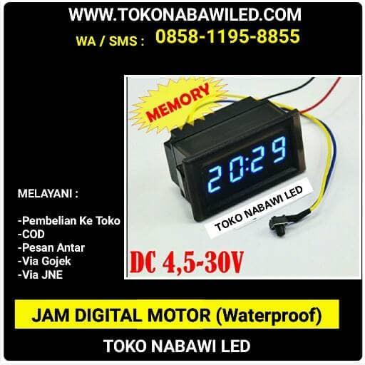 harga Jam motor digital waterproof Tokopedia.com