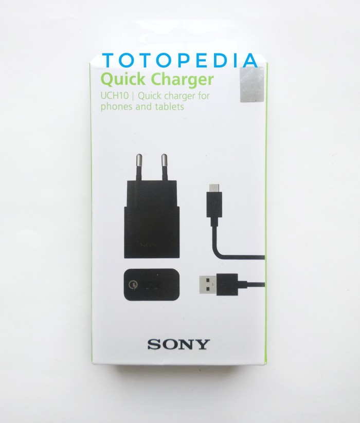 harga Quick charger sony xperia uch 10 uch-10 original fast charging z5 Tokopedia.com