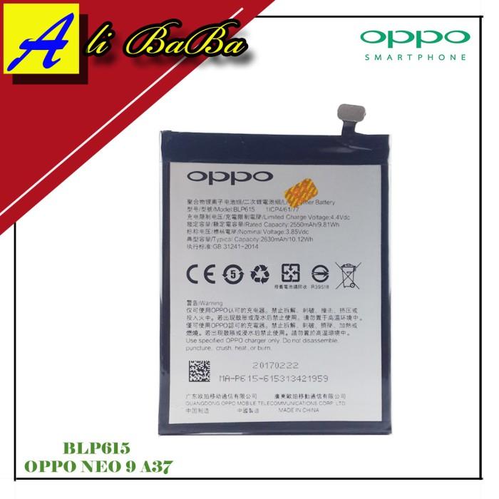 harga Baterai handphone oppo neo 9 a37 blp615 batre hp battery oppo original Tokopedia.com