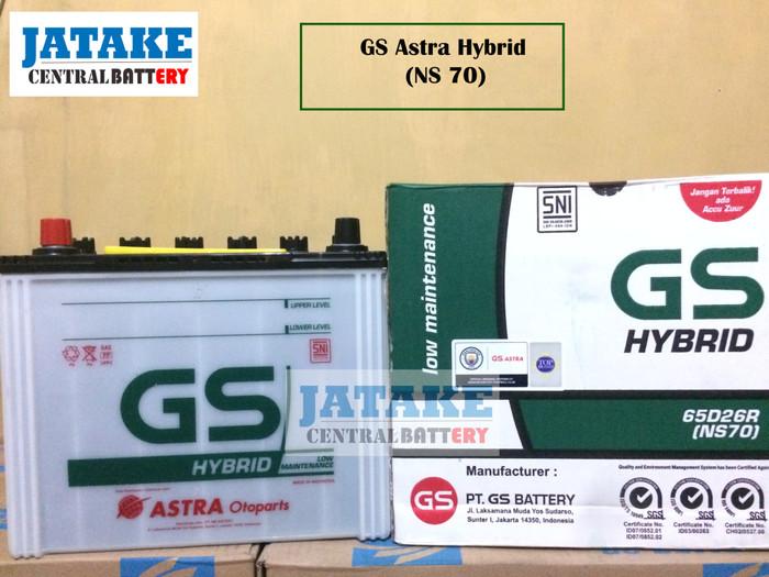 Jual Aki Basah Ns70 Ns 70 Gs Astra Hybrid Di Tangerang Kota Tangerang Jatake Central Battery Tokopedia