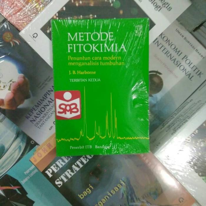 harga Metode fitokimia penuntun cara modern - harborne Tokopedia.com
