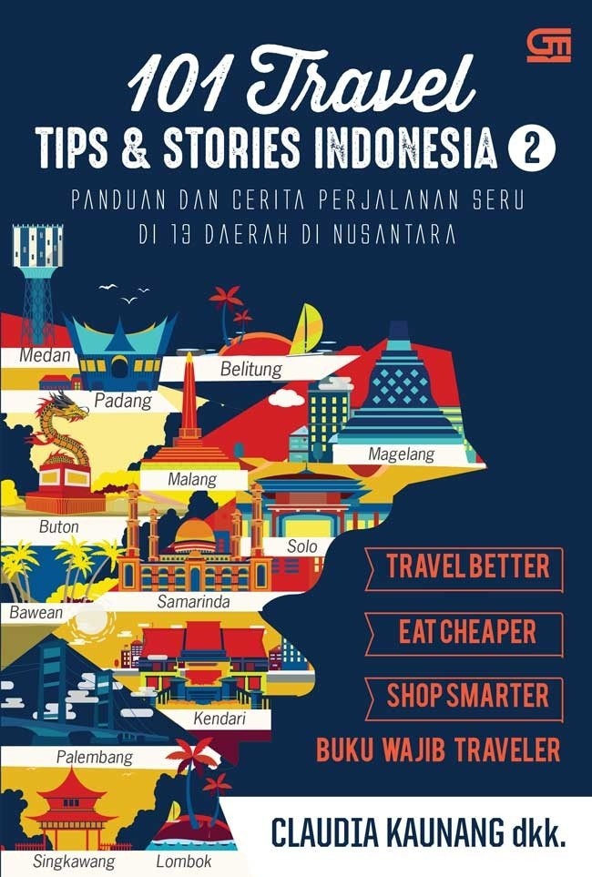 harga 101 travel tips & stories: indonesia 2 Tokopedia.com