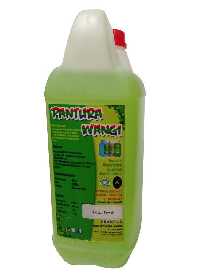 Foto Produk PARFUM LAUNDRY  AROMA LIFEBUOY MOSTURISING PLUS NETTO 5000 ML dari Kuman Clean Official