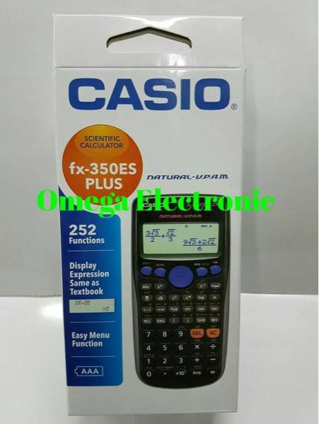 harga Casio fx-350es plus scientific calculator kalkulator sekolah kuliah Tokopedia.com