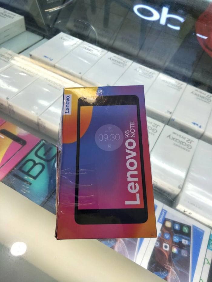harga Lenovo k6 note grs resmi Tokopedia.com