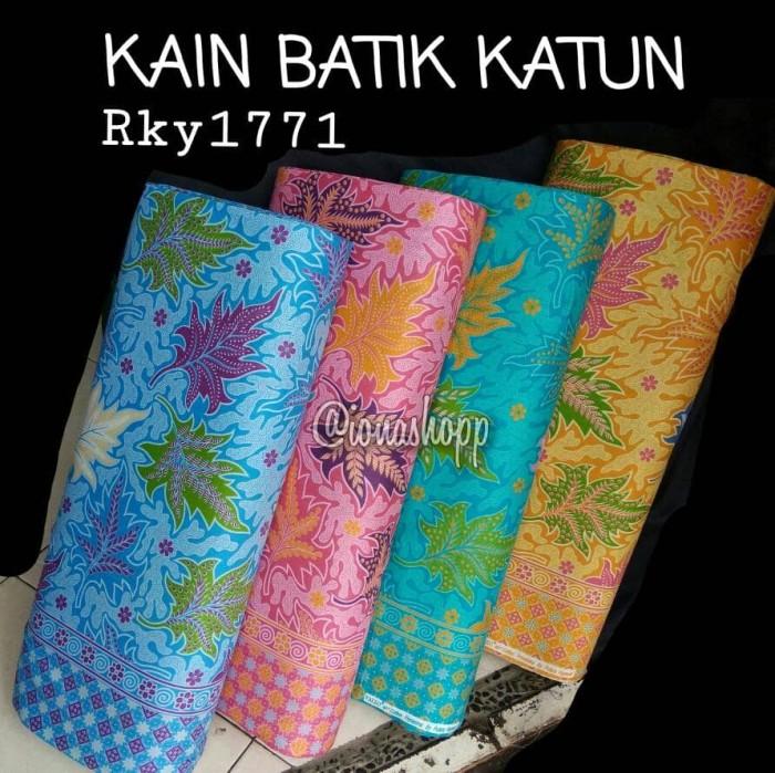 Jual kain batik katun print Rky1771   katun primisima - toko kain ... b49032a257