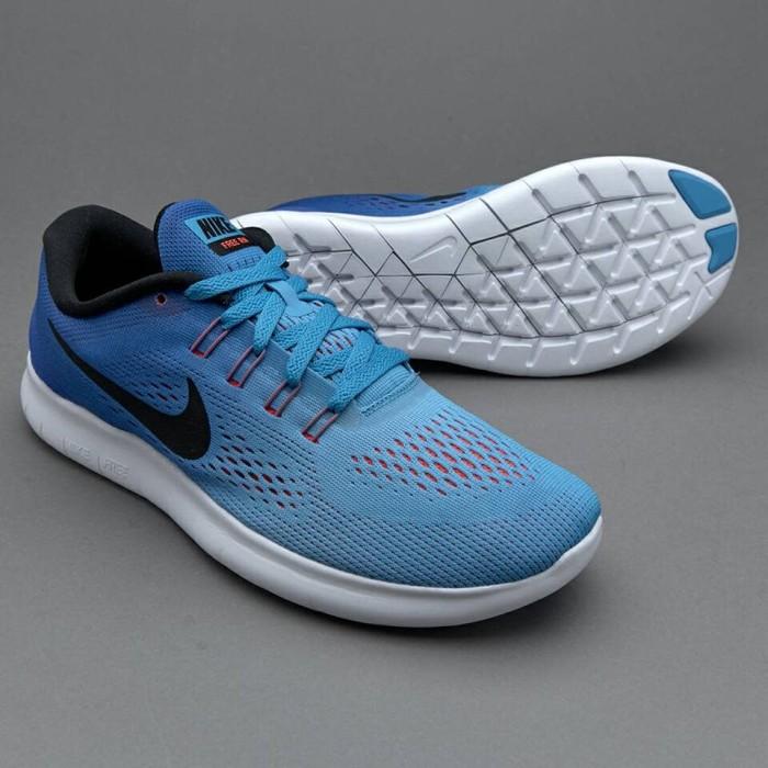 harga [dijamin original] sepatu nike free run blue glow black racer Tokopedia.com