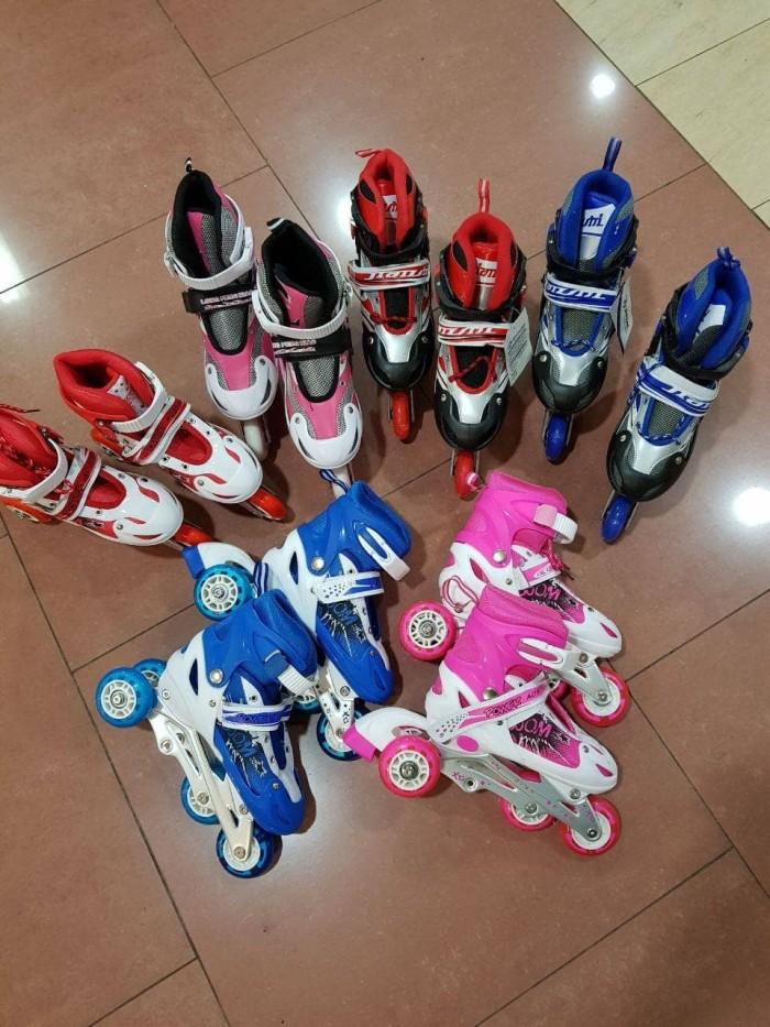 harga Sepatu roda inline skate free bag bisa roda bajaj Tokopedia.com