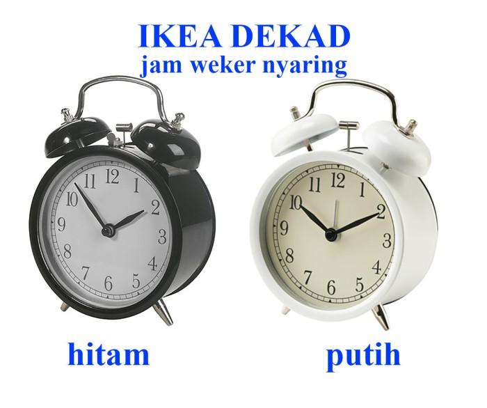 Harga Diskon Jam Alarm Eg7007b Putih Diskonan co Source · harga Ikea dekad jam beker jam