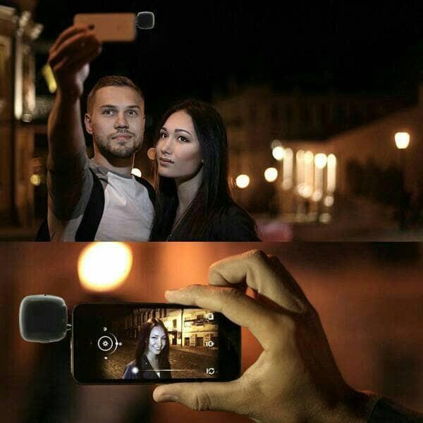 harga Flash selfie lamp / lampu selfie kamera depan hp / video /  vlog Tokopedia.com