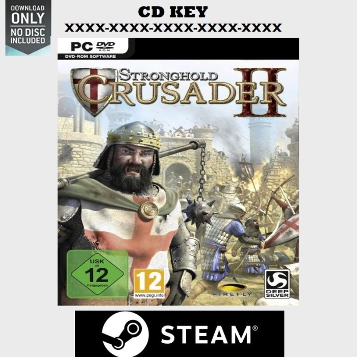 harga Stronghold crusader 2 pc game original Tokopedia.com