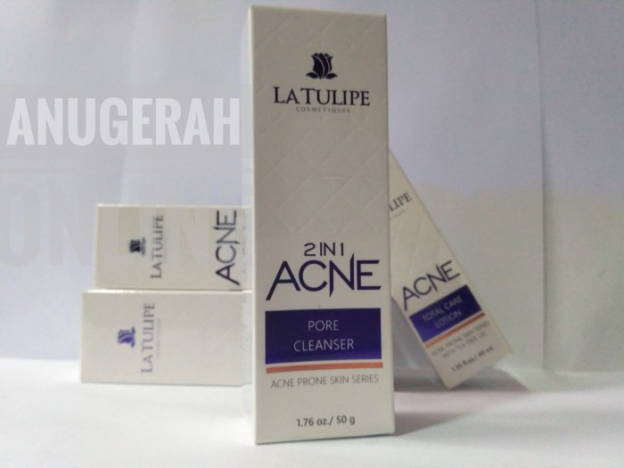 Foto Produk La Tulipe 2 In 1 Acne Pore Cleanser 50 gr dari Toko Anugerah Online