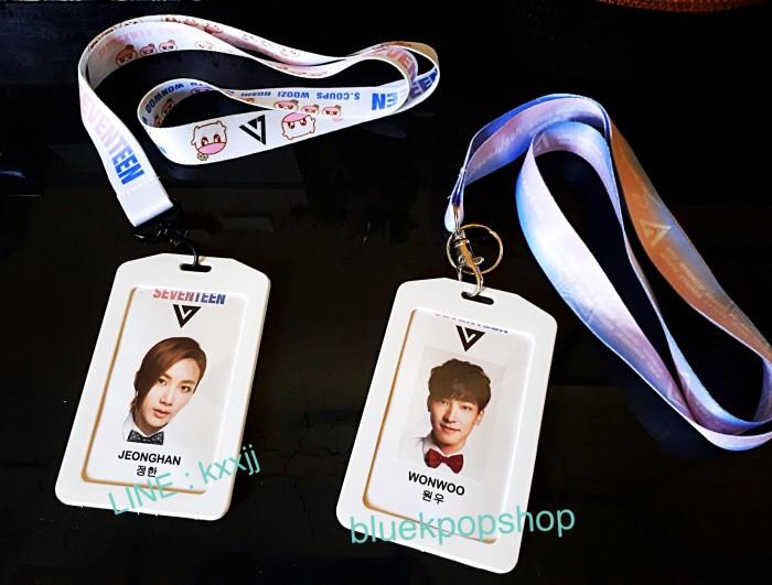 harga Aksesoris fashion kpop id card strap seventeen semua member Tokopedia.com
