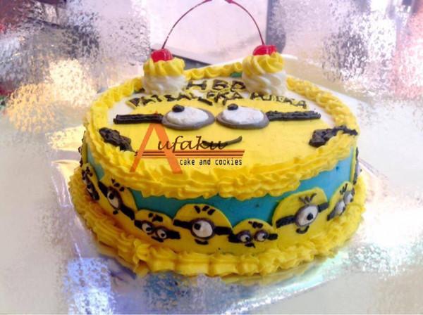 Jual Kue Ultah Karakter Minion Cake Birthday Bandung Kota Bandung Affacake Tokopedia