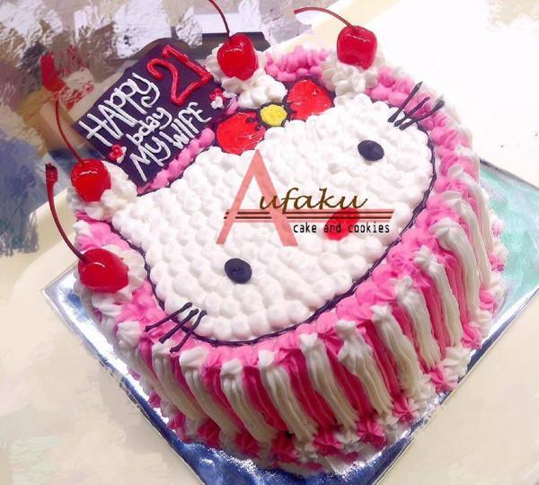Jual Kue Ultah Karakter Hello Kitty Cake Ultah Bandung Kota Bandung Affacake Tokopedia