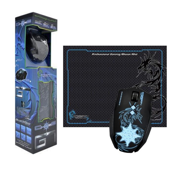 cb55763ee63 Jual Dragonwar Chaos Ele-G7 Macro Gaming Mouse Free Mouse Pad ...