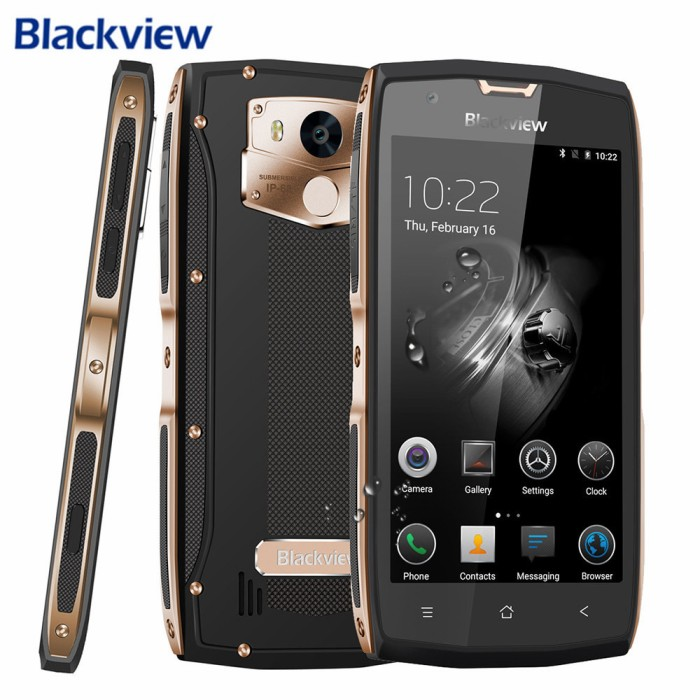 harga Blackview bv7000 pro 64gb ram 4gb. hp tahan banting & air / hp outdoor Tokopedia.com