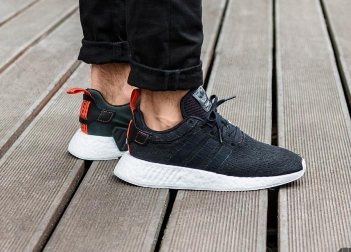 Jual Sepatu Adidas Nmd R2 Core Black Core Black Future
