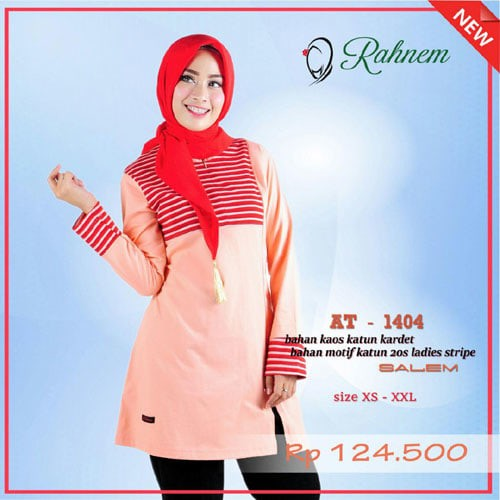 Tunik rahnem at 1404 / blouse / atasan muslim