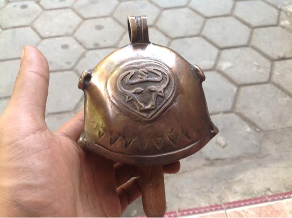 harga Bel pintu rumah lonceng klontong sapi / brass doorbell cowbell 02 Tokopedia.com