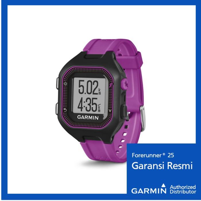 harga Garmin forerunner 25 black/purple - jam outdoor hitam ungu Tokopedia.com