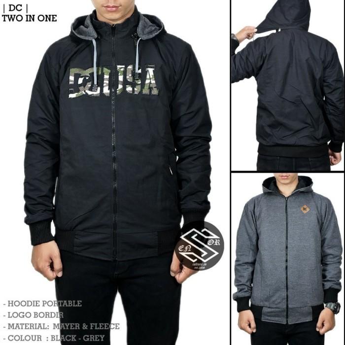 harga Jaket/sweater hoodie 2 in 1 dc usa / jaket promo murah Tokopedia.com