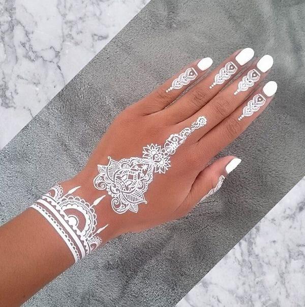 Jual White Henna Pacar Inay Tatto Hena Putih Inai Tato Pewarna