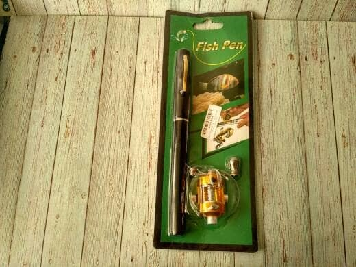 harga Alat pancing berbentuk pulpen 1m / portable pen fishing Tokopedia.com