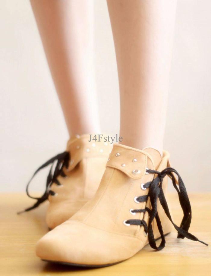 Info Sepatu Boot Wanita Tali Travelbon.com