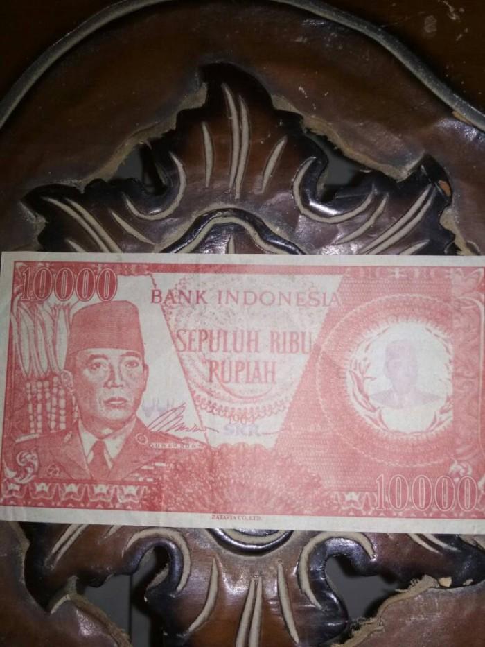 harga uang kuno 10.000 edisi tahun 1964 (Ir. soekarno)  Tokopedia.com