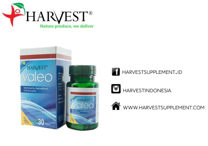 Foto Produk Harvest Valeo Suplemen Vitalitas Pria 30kapsul dari Harvest Supplement