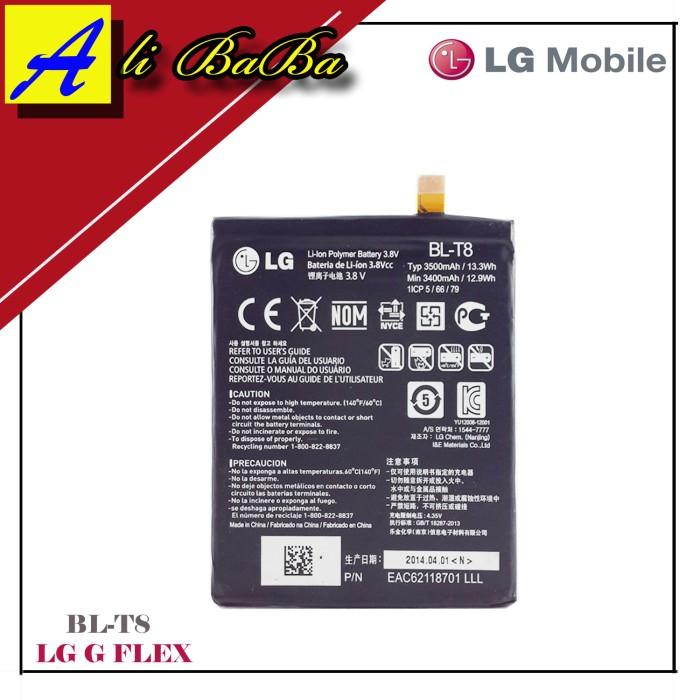 harga Baterai handphone lg bl-t8 lg g flex battery hp batre lg g-flex Tokopedia.com