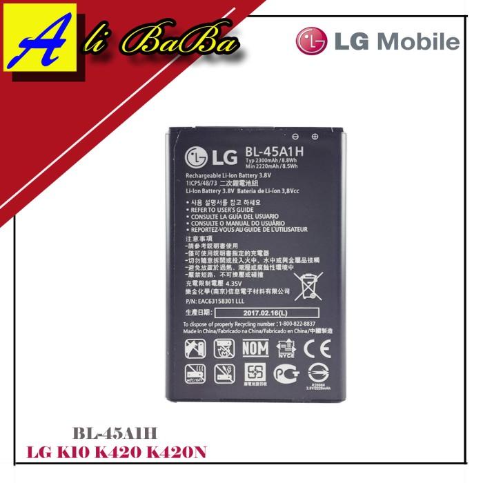harga Baterai handphone lg bl-45a1h lg optimus k10 f670l f670k battery lg Tokopedia.com