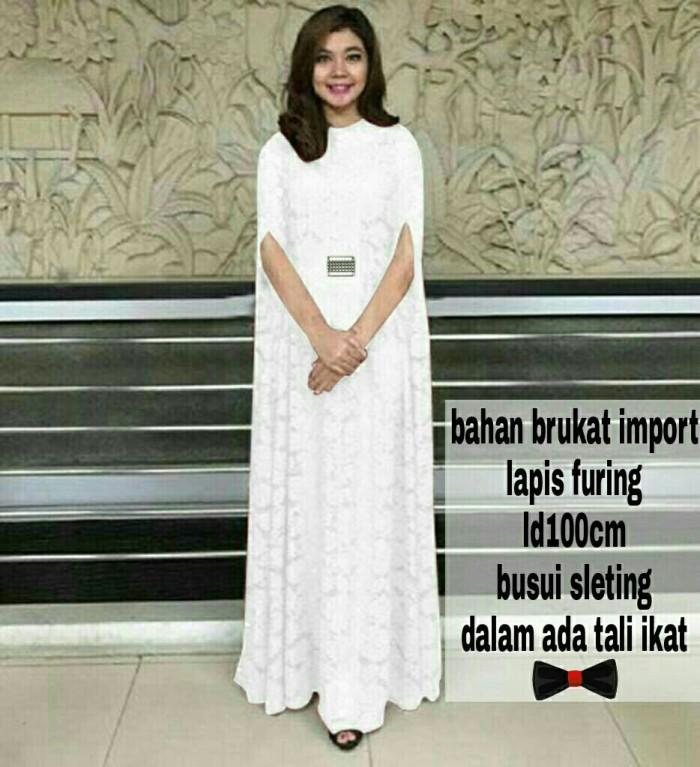 harga Kaftan ratu white [dress 0151] qhb Tokopedia.com