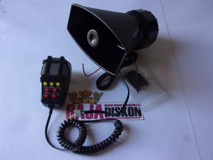 harga Klakson sirine patwal polisi toa gepeng 7 modul + speaker Tokopedia.com