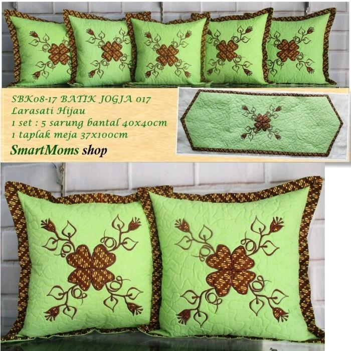 harga Sarung bantal sofa / batik jogja cantika hijau / minimalis / sbk set Tokopedia.