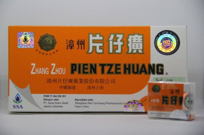 PIEN TZE HUANG / PINAHONG / OBAT PASCA OPERASI