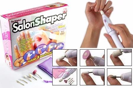 [NEW] Alat Pedicure Menicure -Salon Shaper (includes 5 attachments)  -