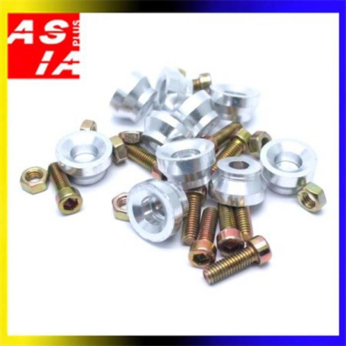 harga Aksesoris monel mangkok bonus baut silver isi 10pcs variasi motor Tokopedia.com
