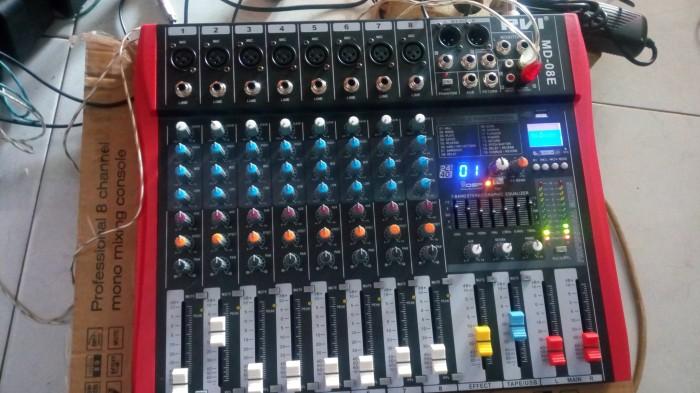 harga Mixer audio pvi md 8 chanel eq usb efek reverb digital Tokopedia.com