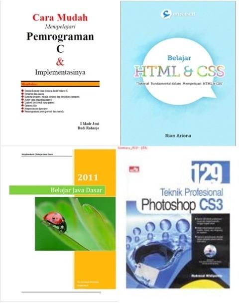 Ebook Bahasa Pemrograman Html