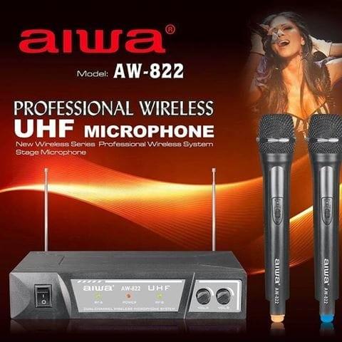 harga Aiwa aw822 michrophone werles 2 mic Tokopedia.com