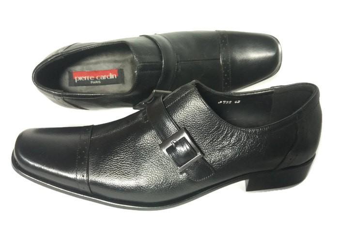 harga Sepatu pierre cardin kulit (d-066) Tokopedia.com