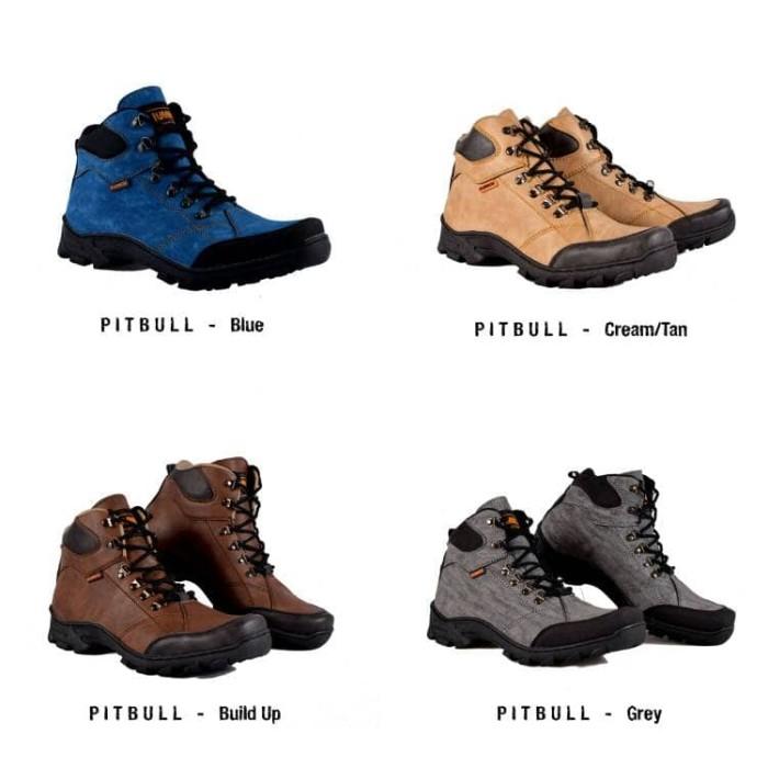 harga Sepatu boots pria humm3r pitbull Tokopedia.com