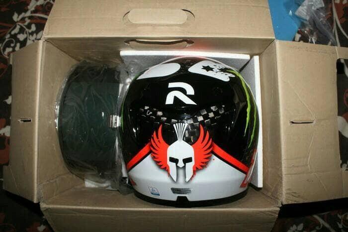 Helm HJC RPHA 10+ plus Carbon Lorenzo !! 2