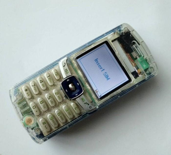 Jual Hp Jadul Sony Ericsson T230 Casing Transparan Kab Bandung