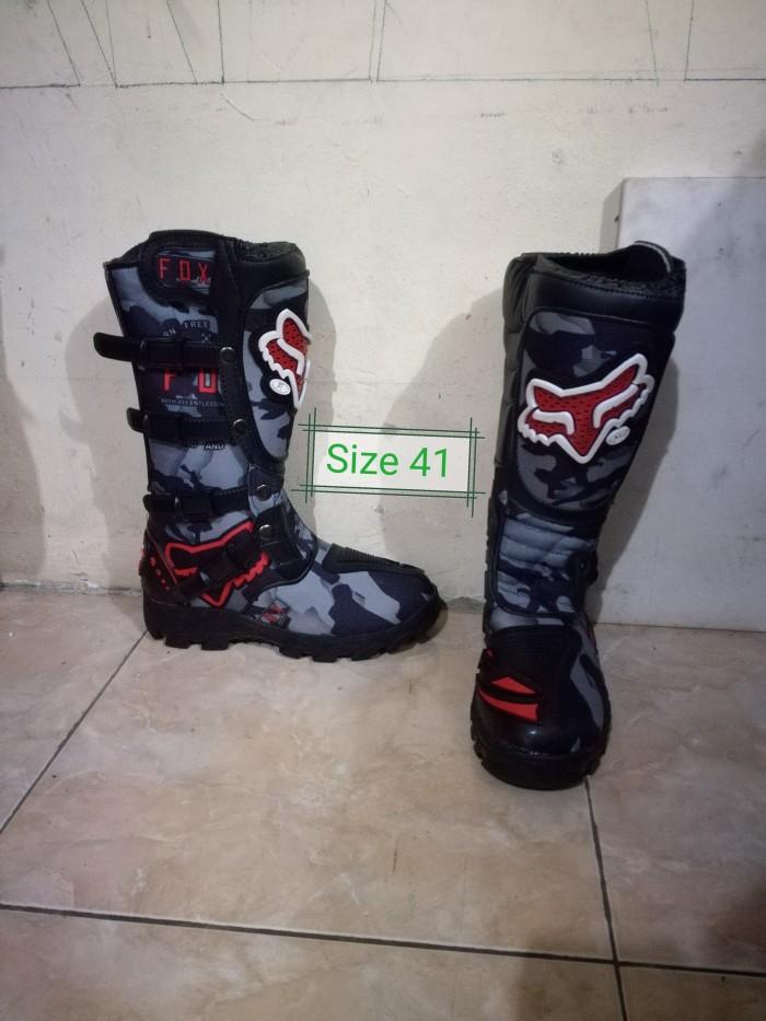 harga Sepatu Motocross Lokal Tokopedia.com