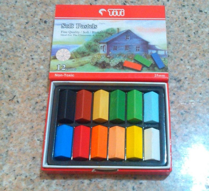 harga Titi soft pastels 12 colour set hair chalk cat rambut color pastel Tokopedia.com