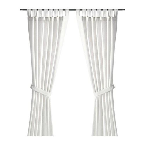 harga Gorden tirai tali kutang + pengikat ikea lenda 280x250cm putih white Tokopedia.com